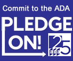 Commit to the ADA - Pledge On! to ADA25