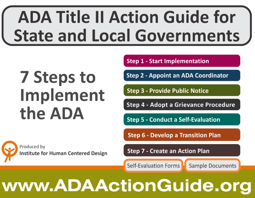 7 steps to implement the ADA