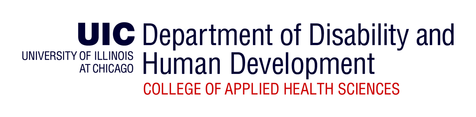 University of Illinois at Chicago, Department of Disability and Human Development, College of Applied Health Sciences